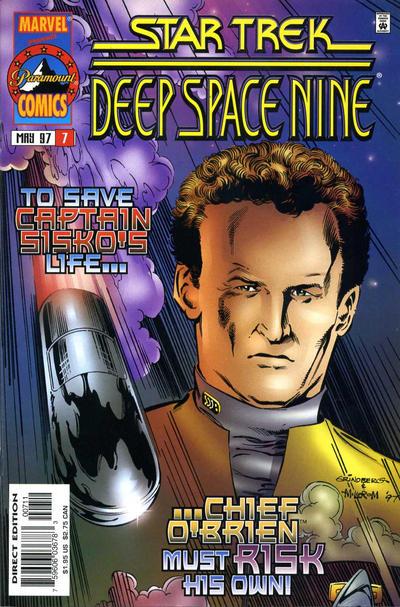 Cover for Star Trek: Deep Space Nine (Marvel, 1996 series) #7
