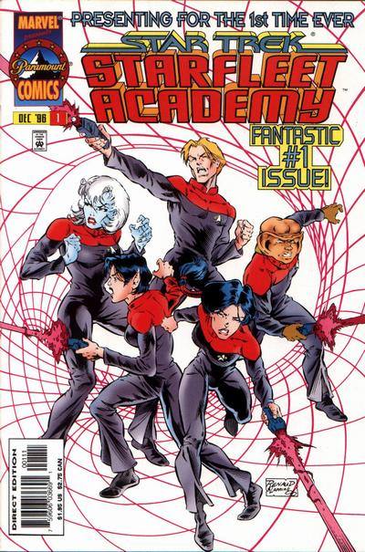 Cover for Star Trek: Starfleet Academy (Marvel, 1996 series) #1