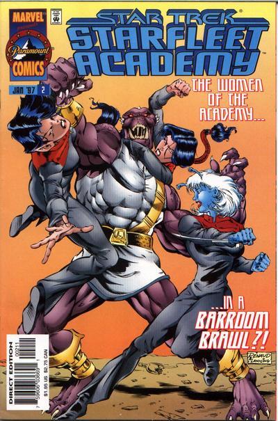Cover for Star Trek: Starfleet Academy (Marvel, 1996 series) #2