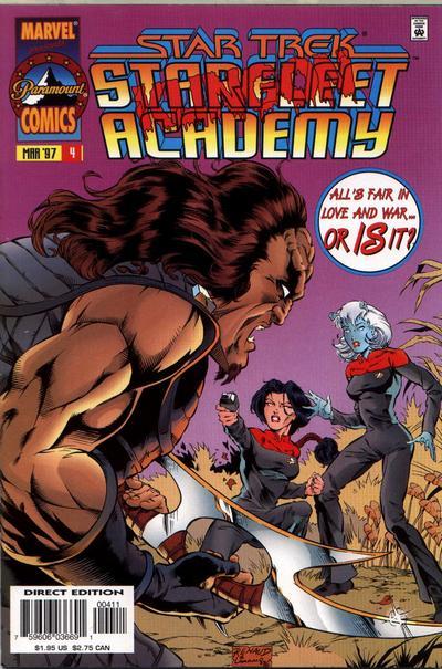 Cover for Star Trek: Starfleet Academy (Marvel, 1996 series) #4