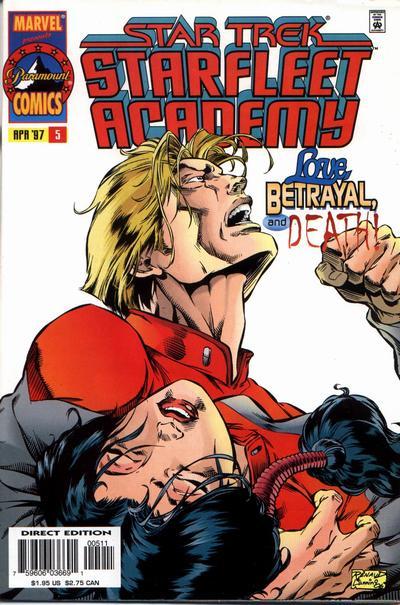 Cover for Star Trek: Starfleet Academy (Marvel, 1996 series) #5