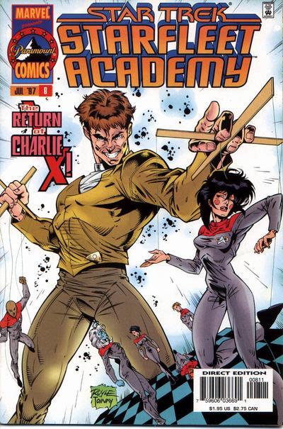 Cover for Star Trek: Starfleet Academy (Marvel, 1996 series) #8