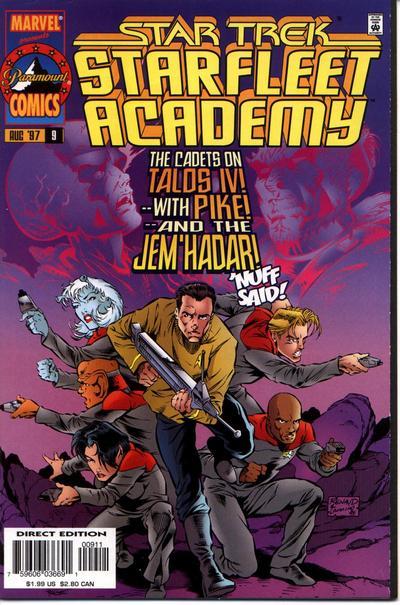 Cover for Star Trek: Starfleet Academy (Marvel, 1996 series) #9