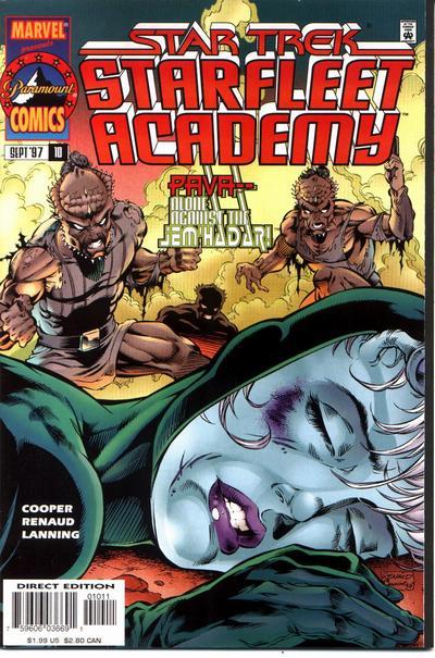 Cover for Star Trek: Starfleet Academy (Marvel, 1996 series) #10