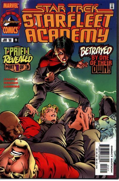 Cover for Star Trek: Starfleet Academy (Marvel, 1996 series) #14