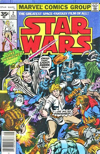 Cover for Star Wars (Marvel, 1977 series) #2 [30¢ Cover Price]