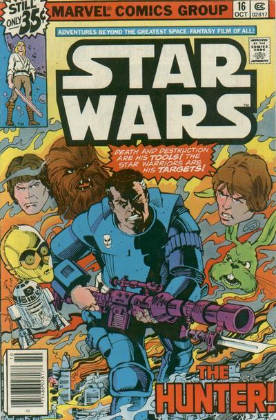 Cover for Star Wars (Marvel, 1977 series) #16 [Regular Edition]