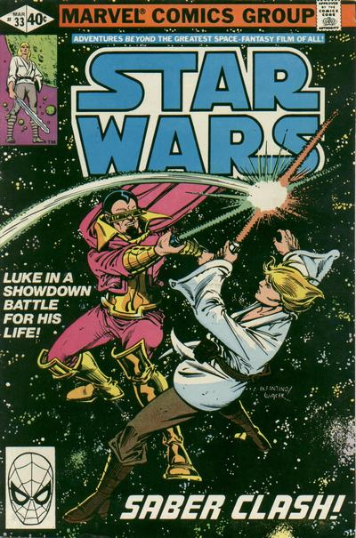 Cover for Star Wars (Marvel, 1977 series) #33 [Direct Edition]
