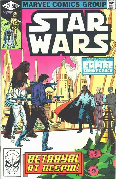 Cover for Star Wars (Marvel, 1977 series) #43 [Direct Edition]
