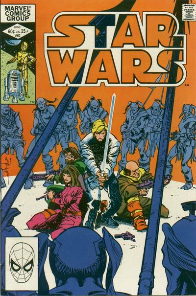 Cover for Star Wars (Marvel, 1977 series) #60 [Direct Edition]