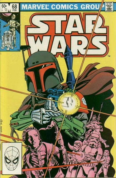 Cover for Star Wars (Marvel, 1977 series) #68 [Direct Edition]