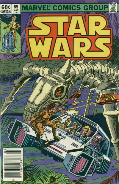Cover for Star Wars (Marvel, 1977 series) #69 [Direct Edition]