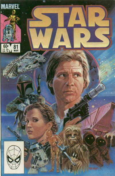 Cover for Star Wars (Marvel, 1977 series) #81 [Direct]