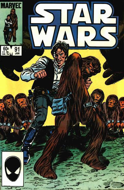 Cover for Star Wars (Marvel, 1977 series) #91 [Direct]