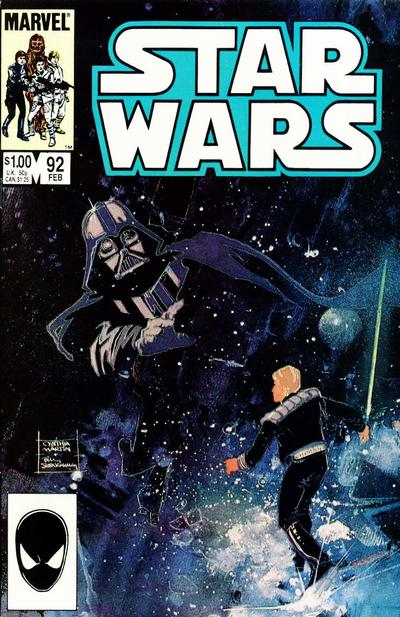 Cover for Star Wars (Marvel, 1977 series) #92 [Newsstand]