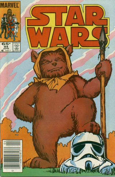 Cover for Star Wars (Marvel, 1977 series) #94 [Direct Edition]