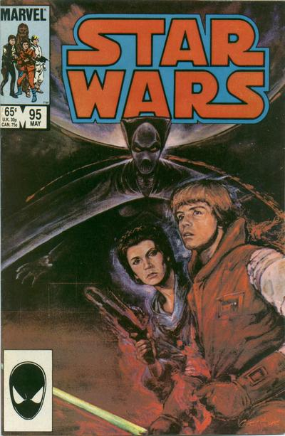 Cover for Star Wars (Marvel, 1977 series) #95 [Newsstand]