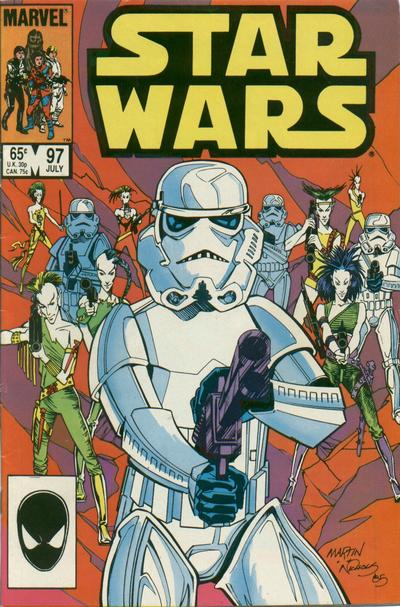 Cover for Star Wars (Marvel, 1977 series) #97 [Canadian]