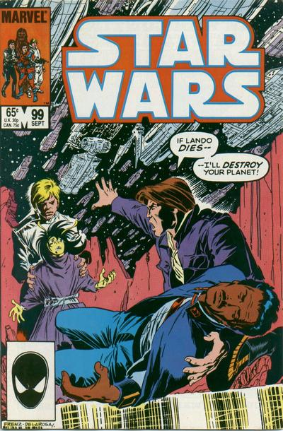 Cover for Star Wars (Marvel, 1977 series) #99 [Direct]