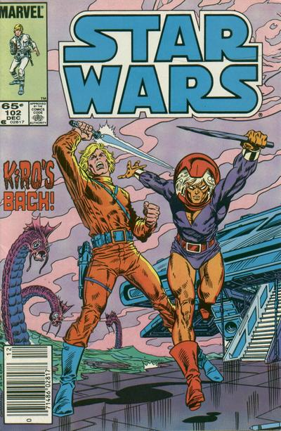 Cover for Star Wars (Marvel, 1977 series) #102 [Newsstand]