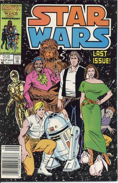 Cover for Star Wars (Marvel, 1977 series) #107 [Direct Edition]