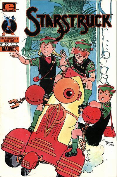 Cover for Starstruck (Marvel, 1985 series) #3
