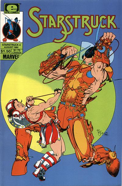 Cover for Starstruck (Marvel, 1985 series) #4