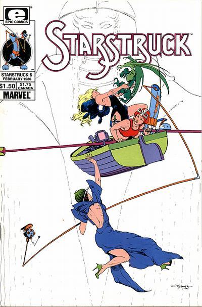 Cover for Starstruck (Marvel, 1985 series) #6