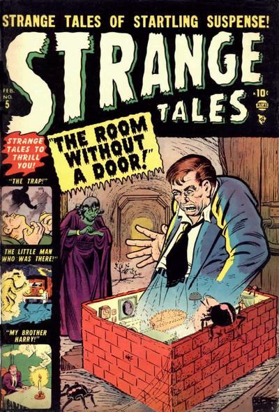Cover for Strange Tales (Marvel, 1951 series) #5