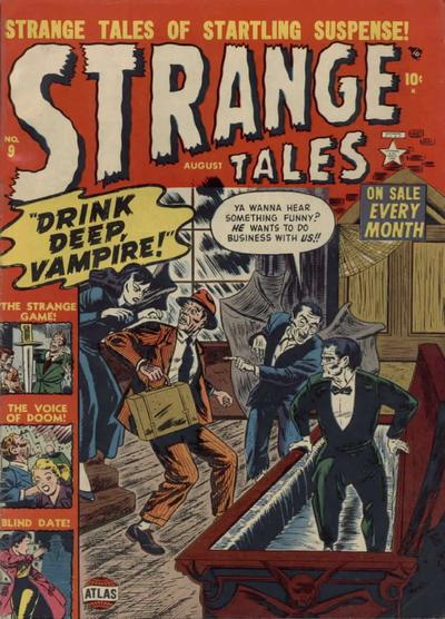 Cover for Strange Tales (Marvel, 1951 series) #9