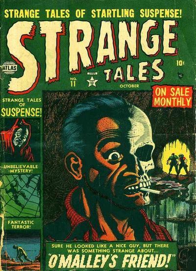 Cover for Strange Tales (Marvel, 1951 series) #11