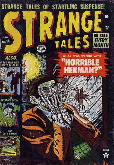 Cover for Strange Tales (Marvel, 1951 series) #14