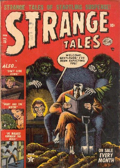 Cover for Strange Tales (Marvel, 1951 series) #15