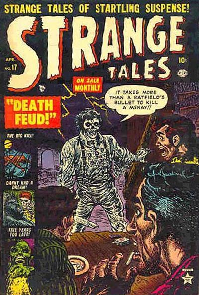 Cover for Strange Tales (Marvel, 1951 series) #17