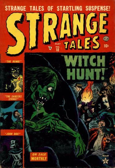 Cover for Strange Tales (Marvel, 1951 series) #18