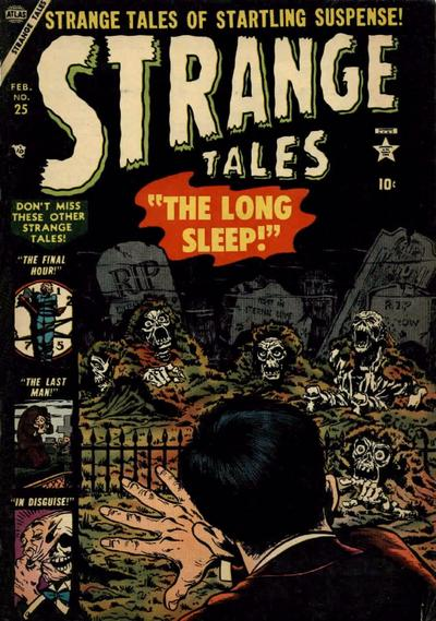 Cover for Strange Tales (Marvel, 1951 series) #25