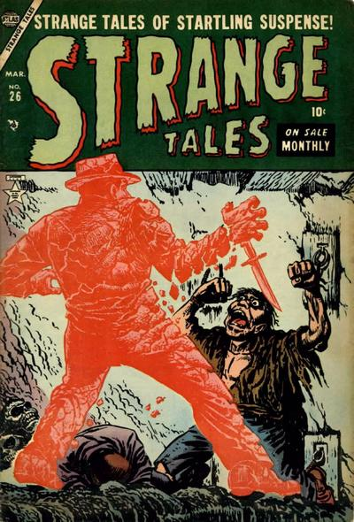 Cover for Strange Tales (Marvel, 1951 series) #26