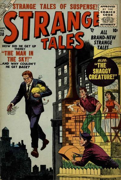 Cover for Strange Tales (Marvel, 1951 series) #38