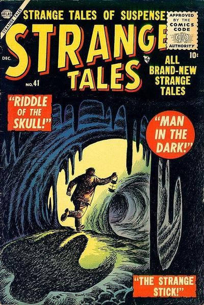 Cover for Strange Tales (Marvel, 1951 series) #41