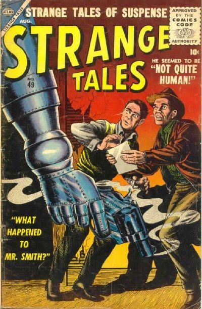 Cover for Strange Tales (Marvel, 1951 series) #49