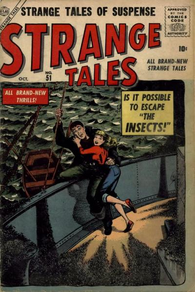 Cover for Strange Tales (Marvel, 1951 series) #51