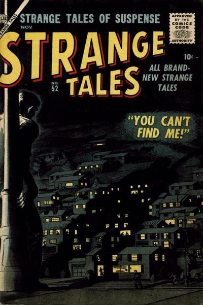 Cover for Strange Tales (Marvel, 1951 series) #52