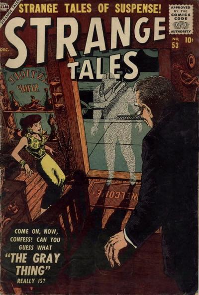 Cover for Strange Tales (Marvel, 1951 series) #53