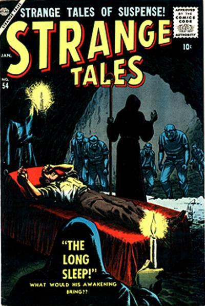 Cover for Strange Tales (Marvel, 1951 series) #54