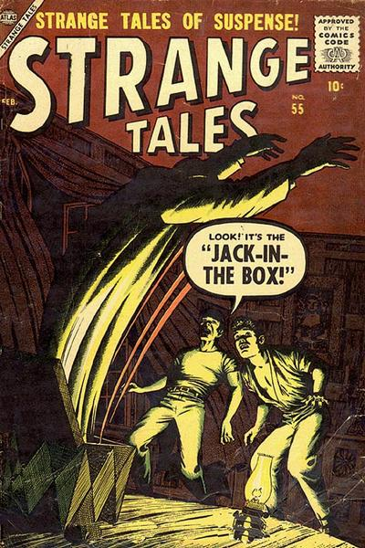 Cover for Strange Tales (Marvel, 1951 series) #55