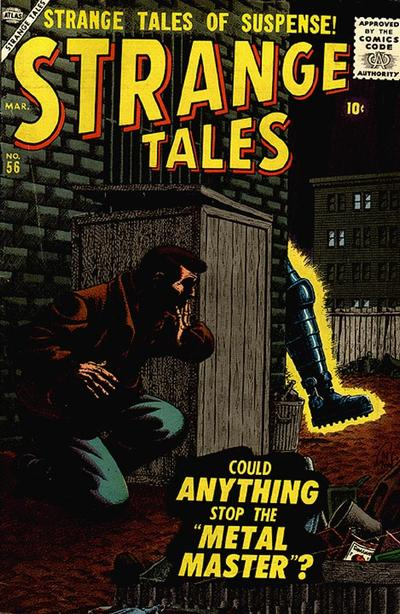 Cover for Strange Tales (Marvel, 1951 series) #56