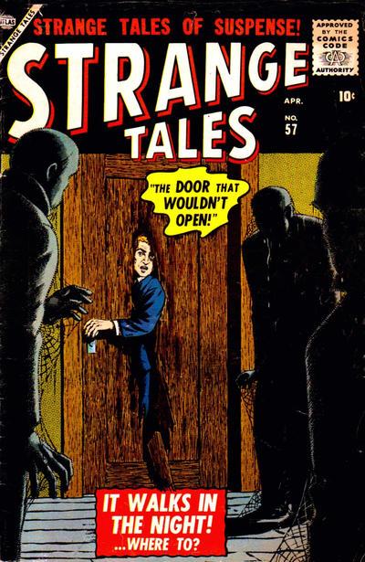 Cover for Strange Tales (Marvel, 1951 series) #57