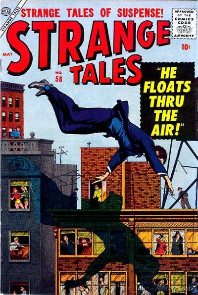 Cover for Strange Tales (Marvel, 1951 series) #58