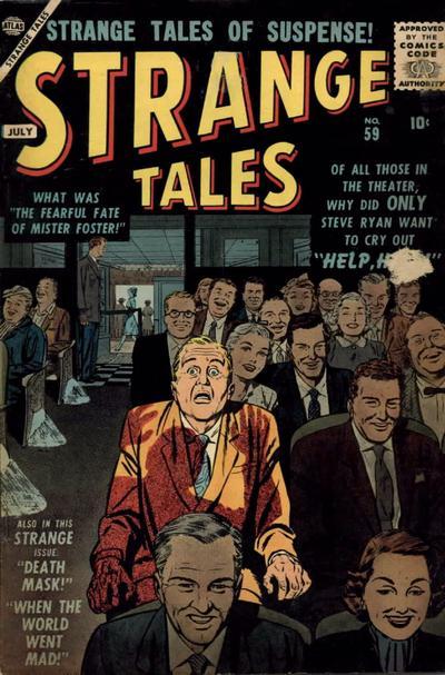 Cover for Strange Tales (Marvel, 1951 series) #59