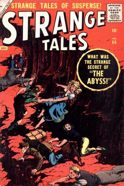 Cover for Strange Tales (Marvel, 1951 series) #60